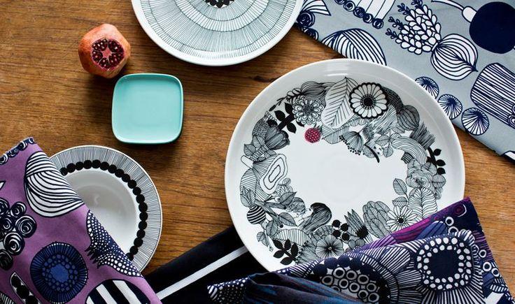 Marimekko Oiwa plate