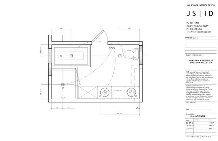Baldwin Hills CA Residence Master Bathroom Remodel Lighting/Electrical Plan CAD by Morgan Lund for JSID. .JSInteriorDes.  sc 1 st  Pinterest & Baldwin Hills CA Residence Master Bathroom Remodel Lighting ... azcodes.com