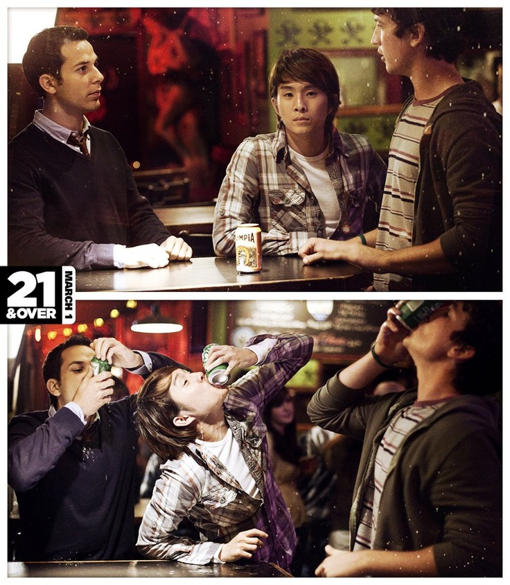 A night you won't remember with the friends you'll never forget. 21 & Over
