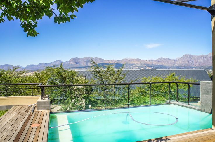 Living in luxury laced with charm and unparalleled views of Paarl's eponymous valley can be found with this house for sale in the exclusive Le Joubert Estate.