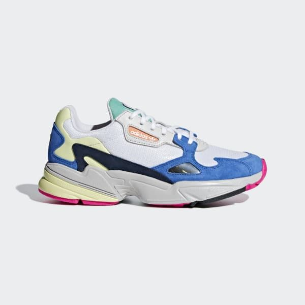 adidas Falcon Shoes - White | adidas US | Zapatillas retro ...