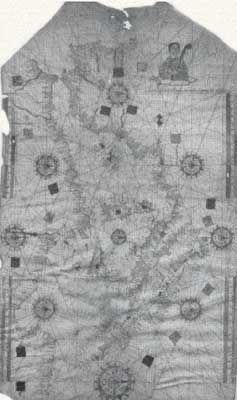 Carte de Piri Reis . Théorie et Analyse. Dinosoria