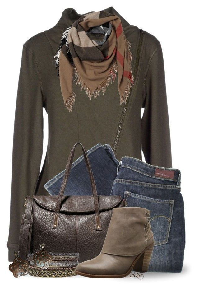 """Chic Sweatshirt"" by jackie22 ❤ liked on Polyvore featuring Blauer, Levi's, Elizabeth and James, Jessica Simpson, GAS Jeans and Burberry"