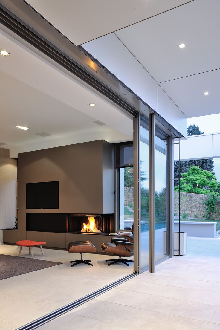 Contemporary Fireplaces For Luxury Living Rooms: Doors-Gates-Windows: A Collection Of Ideas To Try About