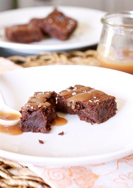 Salted Caramel Brownies Recipe: Fun Recipes, Smells, Comfort Food, Salted Caramel Brownies, Homes, Salted Caramels, Dessert