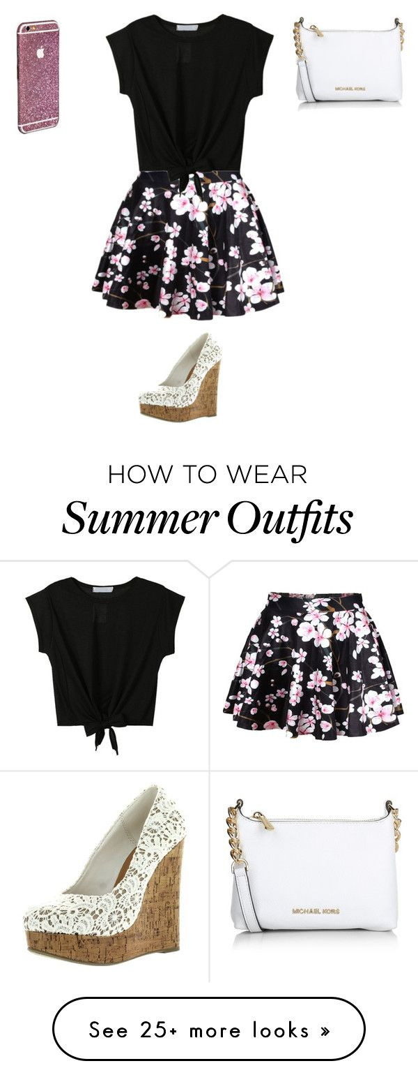 """Japensse Outfit"" by latina2003 on Polyvore featuring Michael Kors, women's clothing, women, female, woman, misses and juniors"