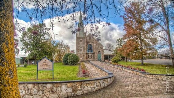 Church at Hahndorf. Photo by Patrick Wynne