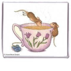 """""""Magnet - Spa Time"""", Stock #: M-33, from House-Mouse Designs®. This item was recently purchased off from our web site. Click on the image to see more information."""