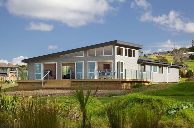 Custom-designed Lockwood holiday home by Lockwood Kumeu