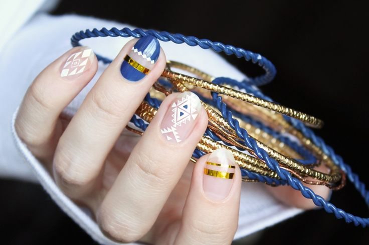 BP-L048 Ethnic Design Manicure Nail Art Image Plate http://www.muxe.net/blog/2017/06/geometric-negative-space-designs-with-bps-stamping-plates/ http://www.bornprettystore.com/show.php?keywords=36306