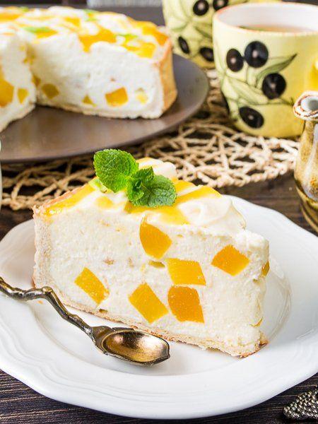 Творожный тарт с персиками - вкусные проверенные рецепты, подбор рецептов по продуктам, консультации шеф-повара, пошаговые фото, списки покупок на VkusnyBlog.Ru