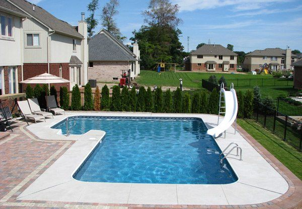 15 Lazy L Swimming Pool Designs With Images Swimming Pool