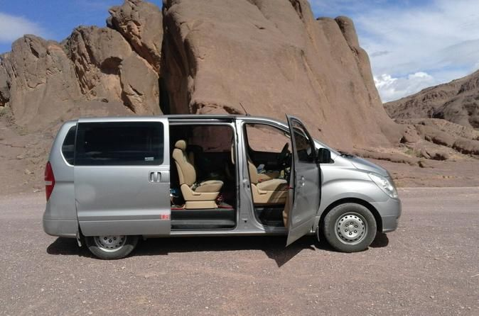 Casablanca to Marrakech Private Transfer Transfer from Casablanca airport to Marrakech in a comfortable car with air conditioning. Your driver will be at Casabalaca airport or at your hotel with a sign of your name to drive you safely to your hotel in MarrakechGood, quality service on your transfer from Casablanca airport or from your hotel in Casablanca. Your driver will be at the airport on time holding a sign with your name. If you are staying at a hotel in Casablanca, your...