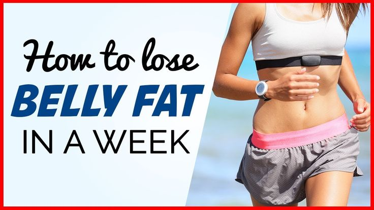 How To Lose BELLY FAT In 1 Week - 4 Effective Ways (Drop One Size)! https://www.youtube.com/watch?v=EJqwDH5gUD4