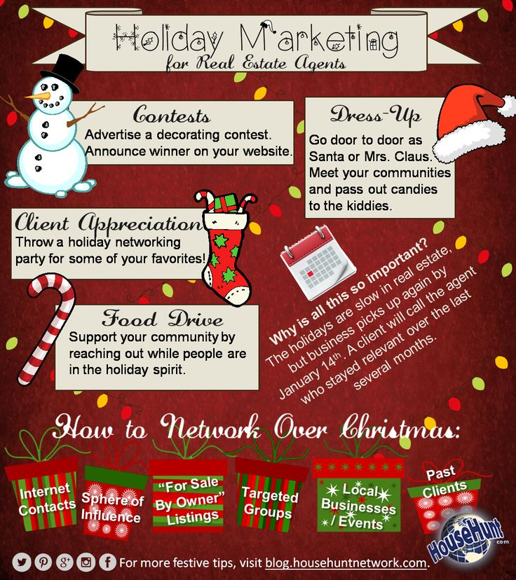 Holiday Marketing Tips for Real Estate Agents