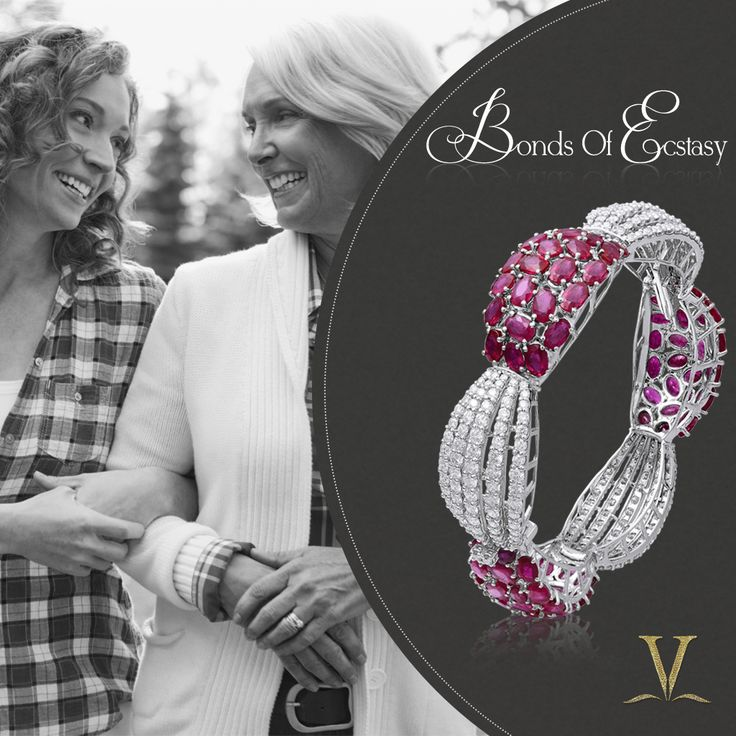 Varuna D Jani understands the bond shared between a woman and her mother-in-law, and has created a combination of a fiery ruby and an ageless diamond that come together to form this elegant bangle which is a perfect gift of assurance by the mother-in-law to her daughter-in-law that she will always hold her hand whenever she needs her.
