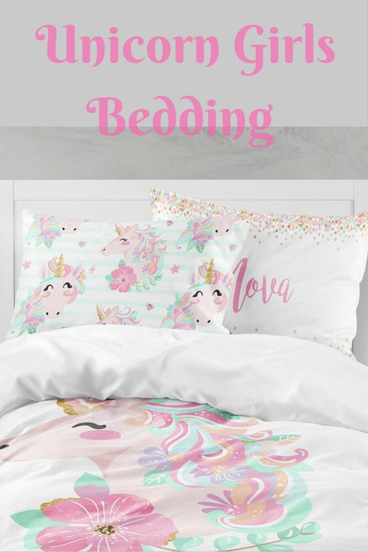 unicorn girls room unicorn girls bedding toddler duvet covers toddler comforter girl - Toddler Girl Bedding