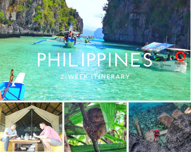 2 week travel itinerary Philippines. Experience El Nido, Manila, Panglao, Donsol Bay. 14 days in the Philippines travel guide.