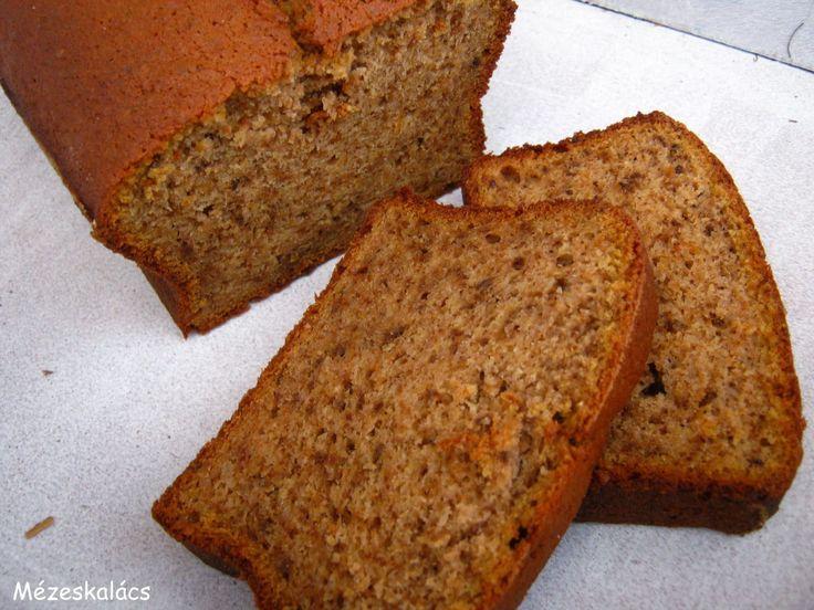 Mézeskalács konyha: Sütőtökös-diós kenyér