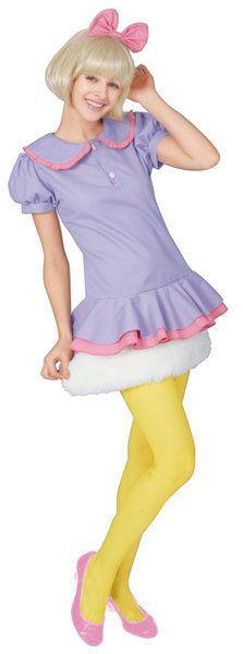 ディズニープリンセス/アダルトデイジーダック/大人用/ハロウィンコスチュームコスプレ衣装 daisy duck halloween costume