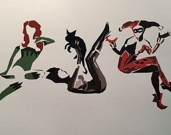 SALE* Gotham City Sirens Print 11x17