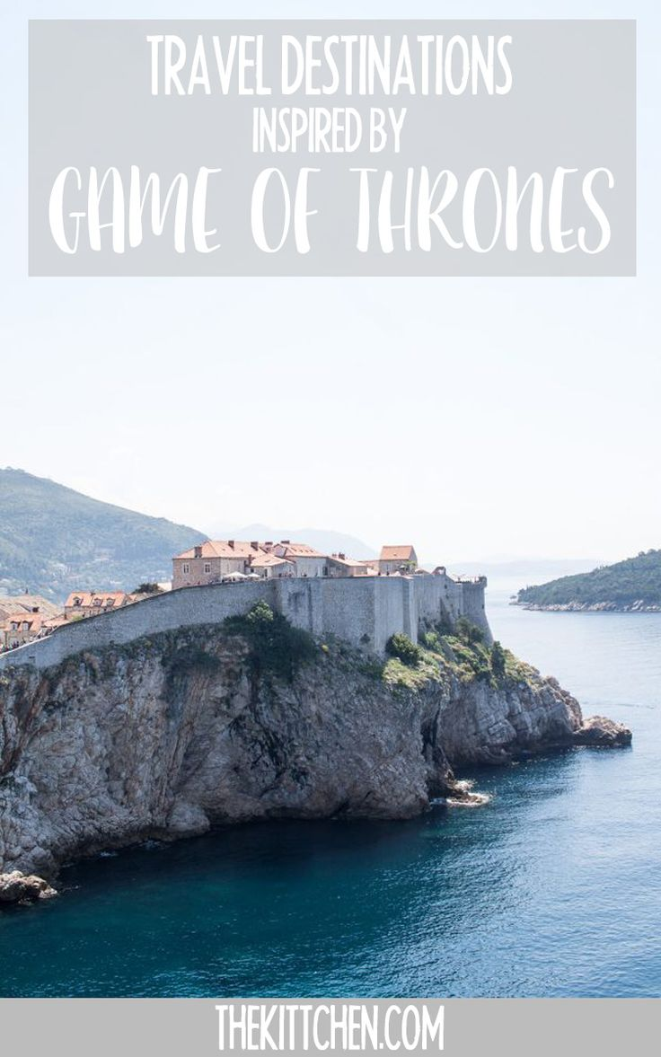 These incredible destinations are worth a visit with views inspired by Game of Thrones. You're going to want to visit these even if you're not a fan of the show! ***************************************** Game of Thrones travel | Europe travel | Europe destinations | Game of Thrones destinations | Game of Thrones locations