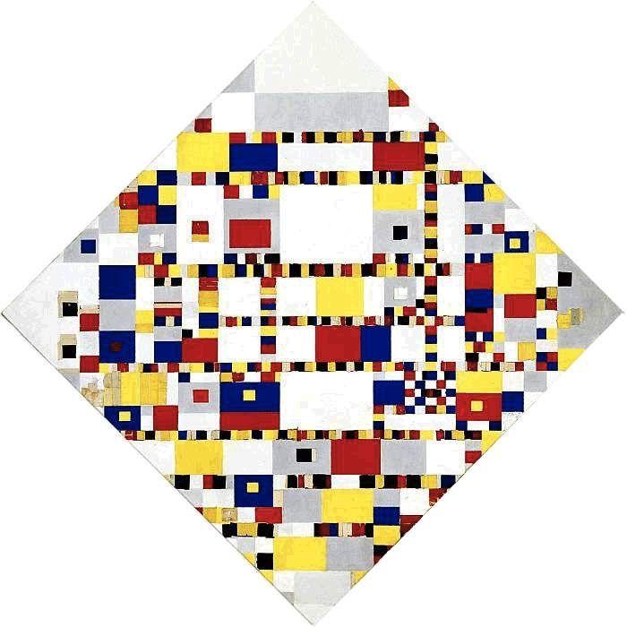 'Mondriaan onbegrepen' door Hanneke Lenders, kunsthistorica, tevens eigenaar en docent van de KLU