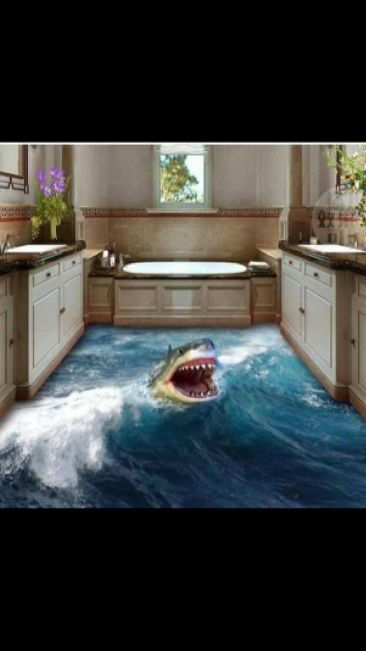 11 best 3d ceramic tile images on pinterest 3d ceramic tiles shark attack dailygadgetfo Image collections