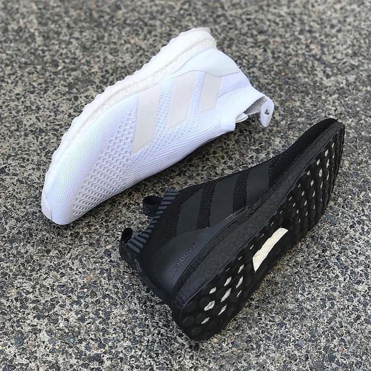 Black or White? From @mbroidered #footyfeature . . . #footydotcom #fcfc #footy #footballboot #soccercleats #football #soccer #futbol #cleatstagram #totalsoccerofficial #fussball #bestoffootball #rldesignz #purecontrol #adidasfootball #adidasrun #adidassoccer #boost #pureboost #ace16 #trainers #boxfresh #featuredfootwear #blackandwhite #sneaks #ultraboost