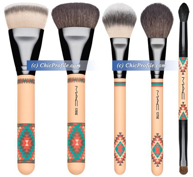 MAC Vibe Tribe Collection Summer 2016 | Brushes