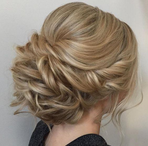 Featured Hairstyle: Heidi Marie (Garrett) Villa (Hair and Makeup Girl); Wedding