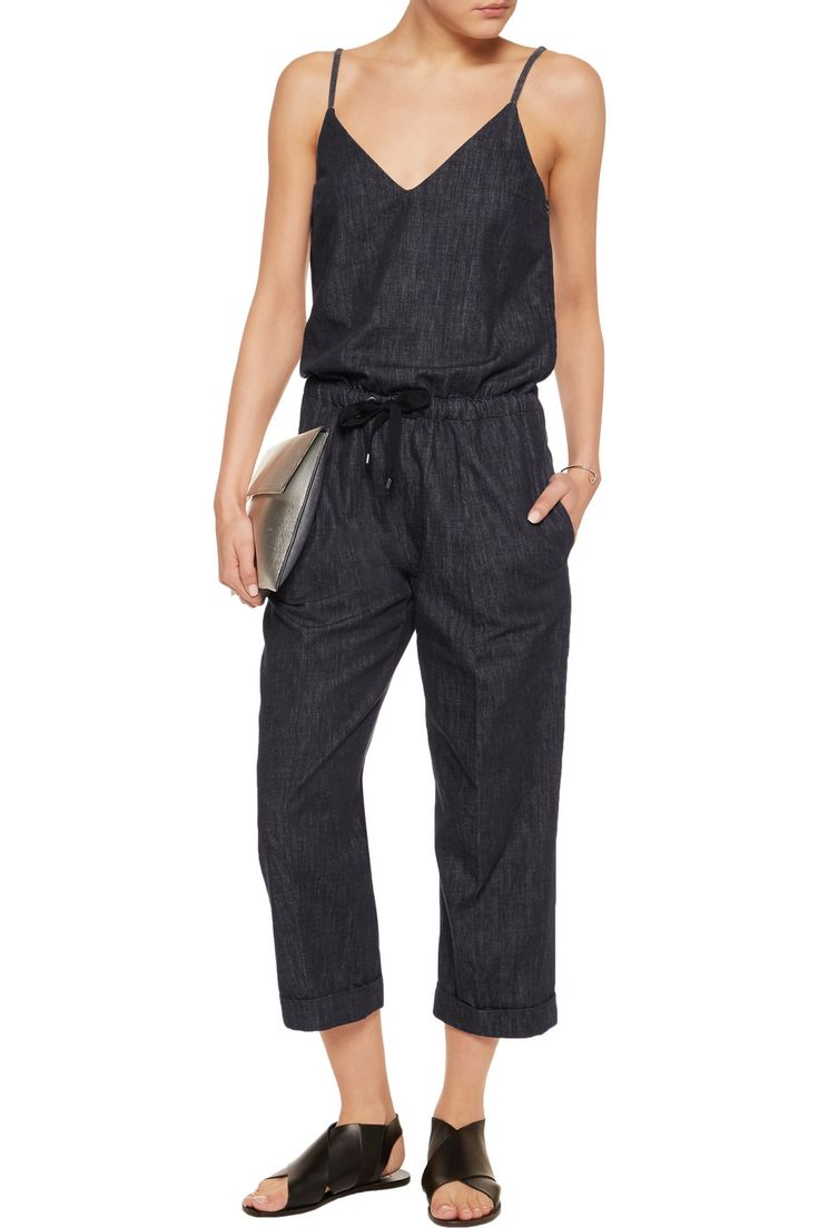 Shop on-sale Brunello Cucinelli Bead-embellished denim jumpsuit. Browse other discount designer Jumpsuits & more on The Most Fashionable Fashion Outlet, THE OUTNET.COM