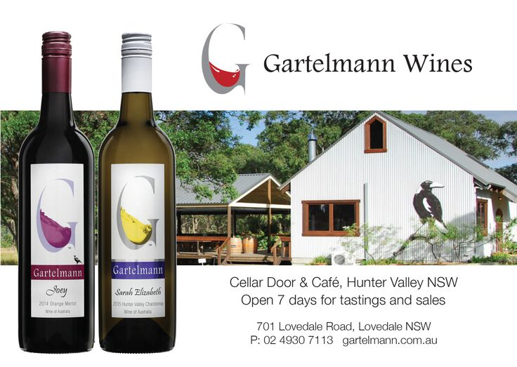 Gartelmann Wines from the Hunter Valley