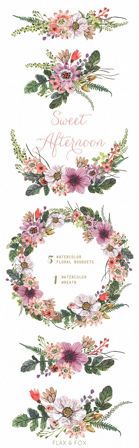 Peony flower isolated on white stock vector 368014568 shutterstock - Sweet Afternoon Watercolor Bouquets Wreath Hand Painted Clipart Floral Wedding Invite Greeting Card Diy Clip Art Flowers