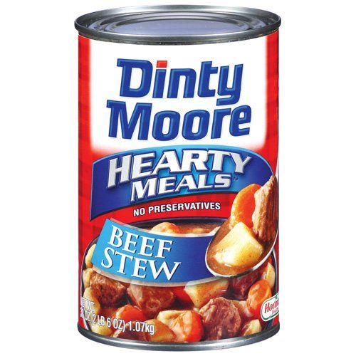 Dinty Moore beef stew is gluten free.