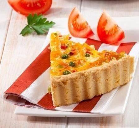 Овощной пирог с ветчиной / Удивительная еда!