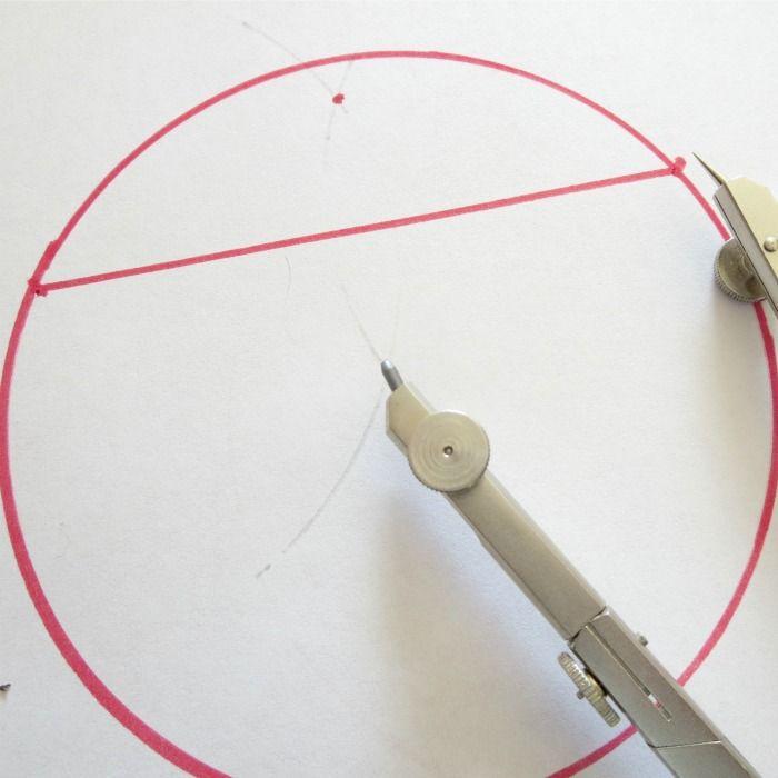 Math Magic: Find the Center of a Circle