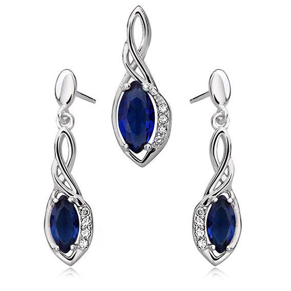 SE1311ZSS Strieborný set so zirkónmi : Šperky Swarovski, SuperSperky.sk #supersperky #krasnesperky #striebornyset #striebro #nausnice #earrings #silver #luxuryjewelry