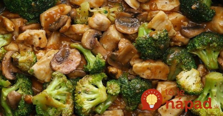 Delikatesa z jednej panvice: Šťavnaté kuracie kúsky s hubami a brokolicou!