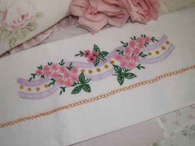 needlework handicrafts such as embroidered pillows and table scarves, crocheted blankets, and pillowcases edged in tatting are some of the invaluable treasures given to me by my maternal grandmother...: Invalu Treasure, Crochet Blankets, Crocheted Blankets