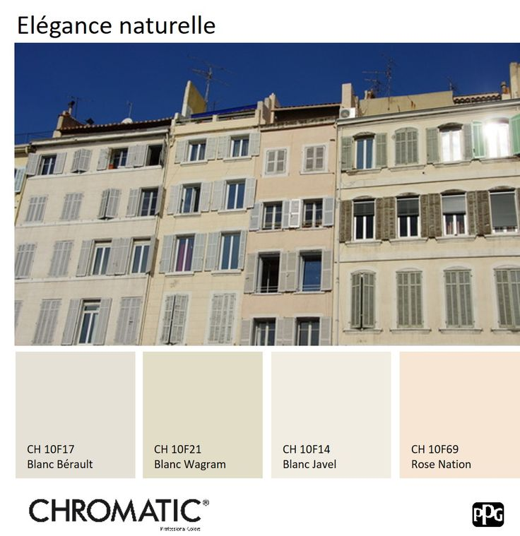35 meilleures images du tableau chromatic en facade de chromatic ppg sur pinterest tendances. Black Bedroom Furniture Sets. Home Design Ideas