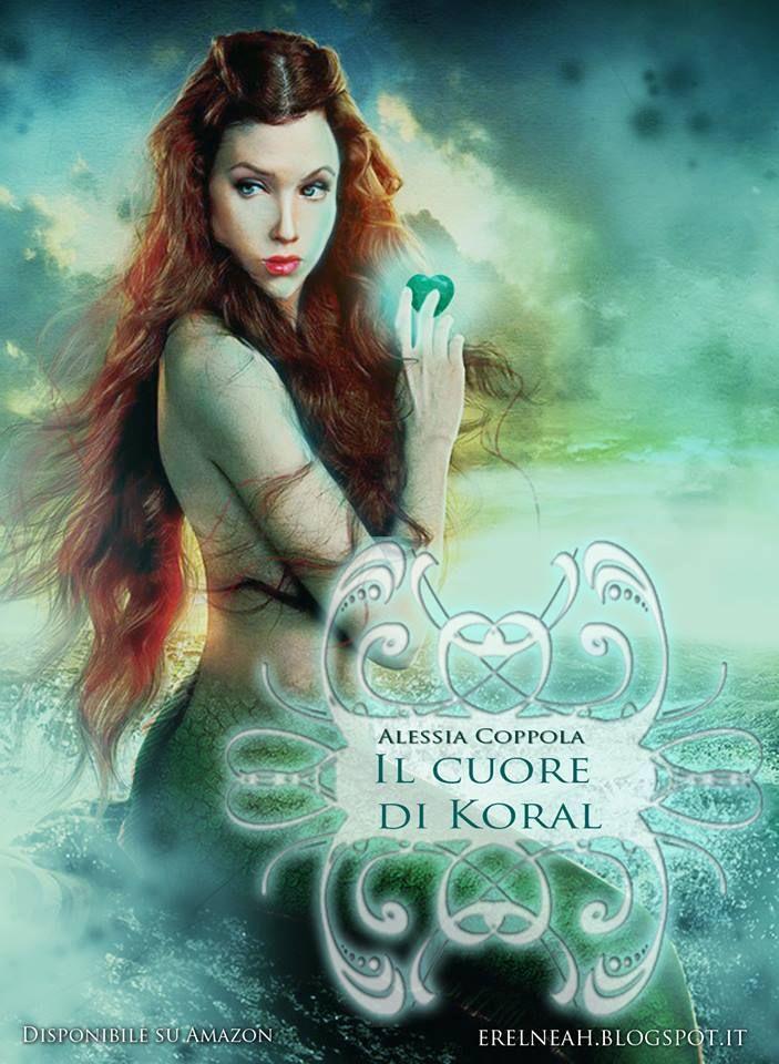"""""""Il cuore di Koral"""" di Alessia Coppola ...la storia di una sirena e dell'uomo che l'ha derubata del suo cuore, la recensione qui -> http://www.letazzinediyoko.it/recensione-il-cuore-di-koral-alessia-valentina-coppola/"""