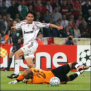Pippo Inzaghi. AC Milan 2-1Liverpool
