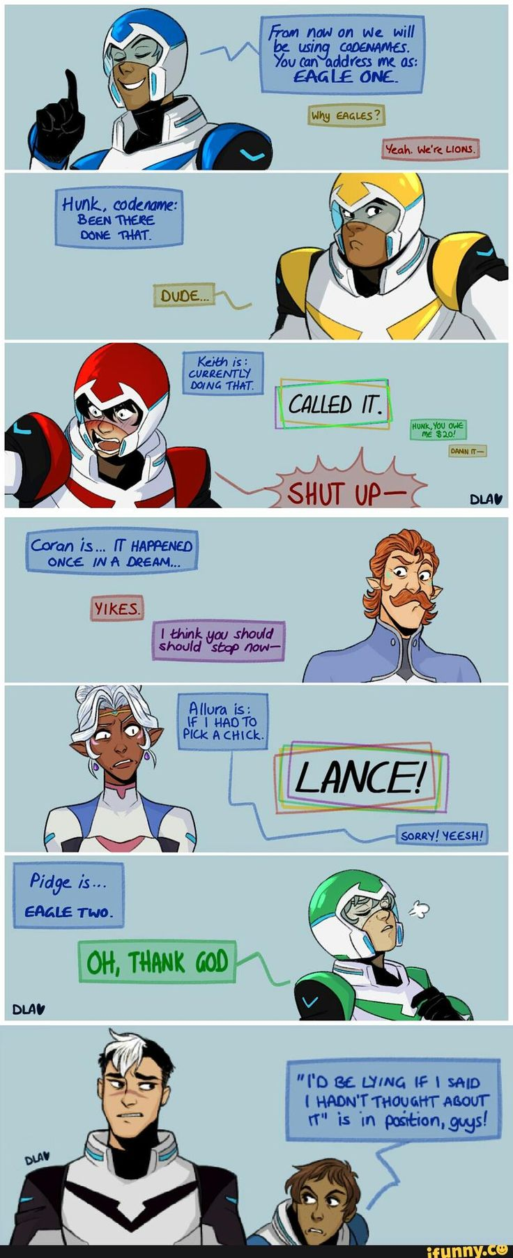 I don't ship Klance but this is great