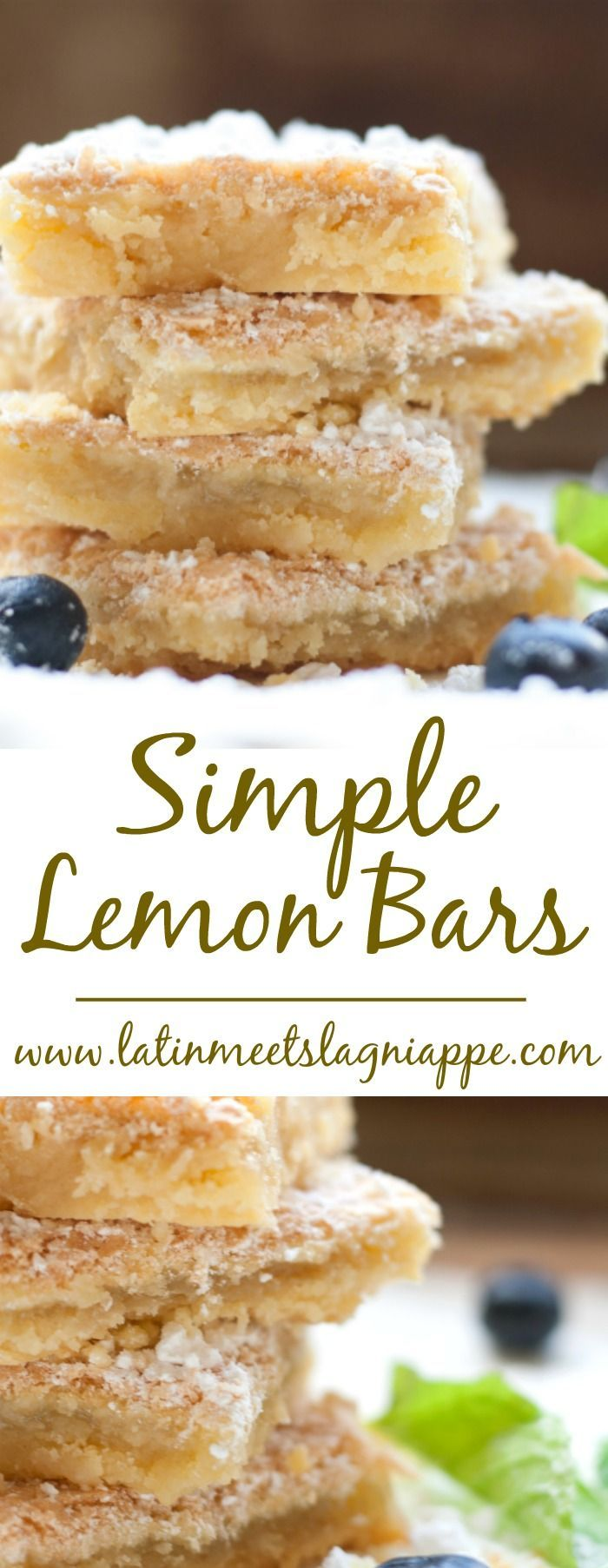 Simple lemon bars recipe for a sweet summer treat