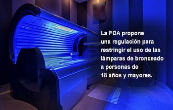 La FDA propone nuevas medidas de seguridad para los aparatos de bronceado artificial. Estos son los hechos http://go.usa.gov/ck5As