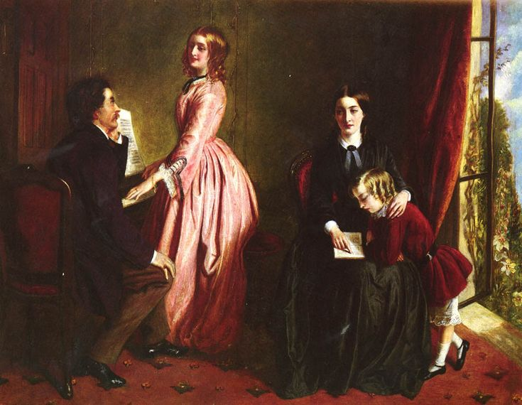Rebecca Solomon (1832-1886) - The Governess
