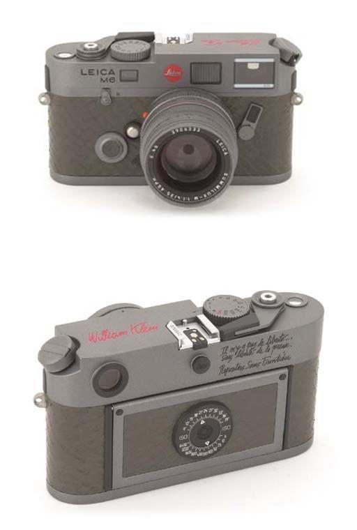 Leica M6 William Klein signature edition