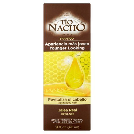 Tio Nacho Younger Looking Royal Jelly Shampoo, 14 fl oz, Multicolor