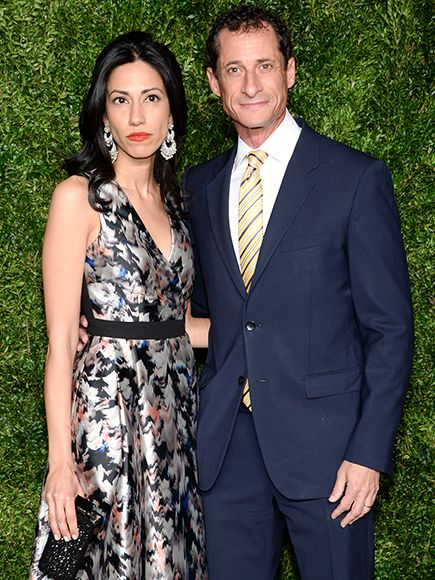 Huma Abedin Splits from Husband Anthony Weiner After He's Caught in Third Sexting Scandal| politics, Anthony Weiner, Huma Abedin